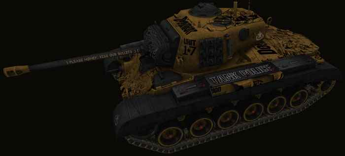 Шкурка для M26 Pershing world of tanks