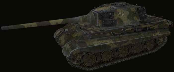 Шкурка для Tiger II world of tanks