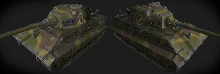 Шкурка для E-75 World of Tanks